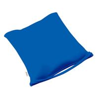 MOGU のびるシートクッション 青