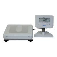 検定付)デジタル体重計セパレ型DP-7900PW-S