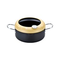 温度計付天ぷら鍋20cm 381-03B