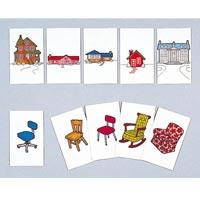組合せ絵カード Ⅰ 124