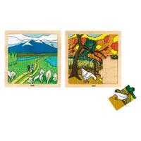 木のジグソーパズル1春の尾瀬ヶ原AS600