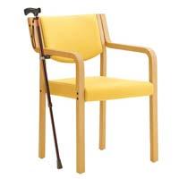 福祉用椅子PD‐7206イエロ-