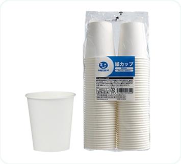 ホワイト紙カップ 7オンス(80個入)