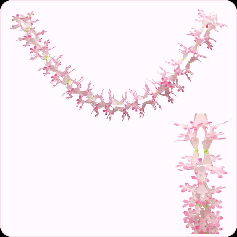 桜満開ガーランド