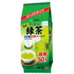 ワンポット緑茶ティーバッグ