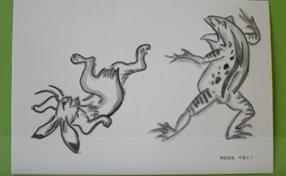 鉛筆で水彩画風の絵を描こう~鉛筆で描いて、なぞるだけ~