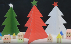 リップルボードで作るクリスマスツリー