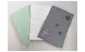 紙すきキットでオリジナル和紙を作ろう!