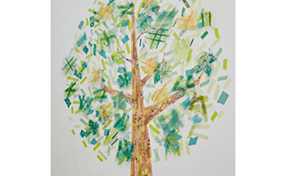 アートに飾る~癒しのグリーン空間~
