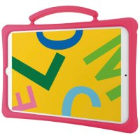 iPad10.2シリコンケース 桃 TB-A19RSCSHPN