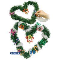 △クリスマスリース作り 417