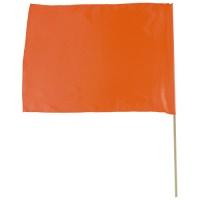 ◎サテン特大旗(オレンジ) 44275