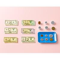 お金模型セット USドル 145325