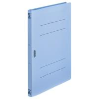フラットファイルPP A4S ブルー FF-A4S-B