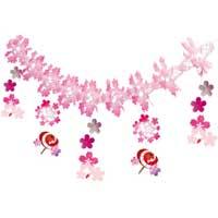 △番傘桜ガーランドSPGL4214