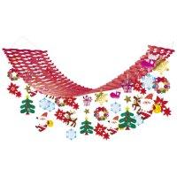 △クリスマスキャロルプリーツハンガー