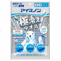 ◆アイスノン 極冷えタオル ブルー