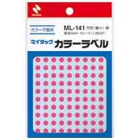 マイタック カラーラベル ML-141 桃 5mm