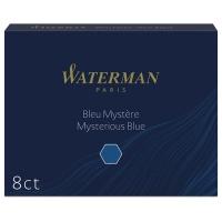 ウォーターマンカートリッジ 青黒 8個