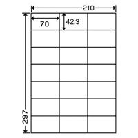 ナナワードラベル LDZ21QB A4/21面 500枚
