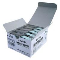 テープ XR-12WE-5P-E 白に黒文字 12mm 5個