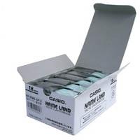 テープ XR-18WE-5P-E 白に黒文字 18mm 5個