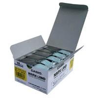 テープ XR-18YW-5P-E 黄に黒文字 18mm 20個