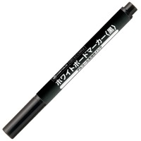 ホワイトボードマーカー細字黒H007J-BK