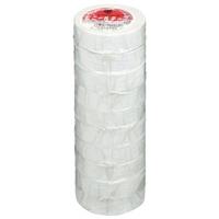 ビニールテープ NO200-19 19mm*10m 白 10巻