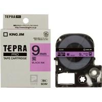 テプラPROテープ SC9V 紫に黒文字 9mm