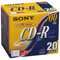 CD-R 20CDQ80DN 20枚