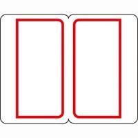 インデックスラベル大 赤 B054J-LR