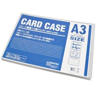 カードケース硬質A3*10枚 D031J-A34