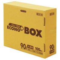 エコノプラスBOX E-94 半透明 90L 100枚