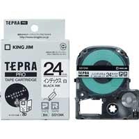テプラPROテープ SSY24K 白に黒文字 24mm