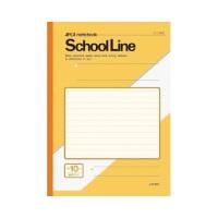 A4スクールライン 10mm横罫 LAY10Y 黄