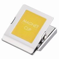 マグネットクリップ小 黄 10個 B147J-Y10