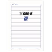 事務用便箋 セン504 A4 横罫32行