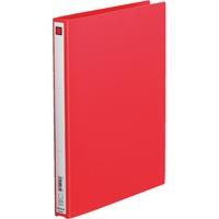 リングファイル 611 A4S 27mm 赤