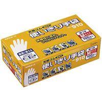 △天然ゴム使い切り手袋 No.910 M 12箱