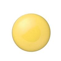 カラーマグネット 20mm黄 10個 B161J-Y
