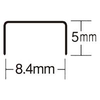 ホッチキス針 NO.10-1M 1000本 MS91187_選択画像02