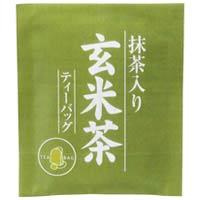 ハラダ 徳用抹茶入り玄米茶ティーバッグ1箱