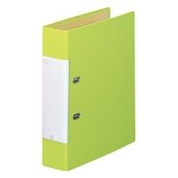 D型リングファイル G2250-6 A4S 黄緑_選択画像01