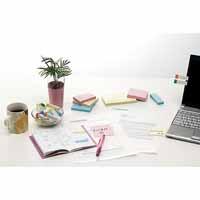 ふせんBOX 38×50mm黄*2箱 P405J-Y40