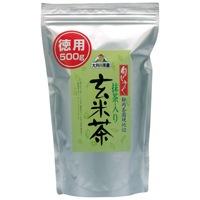 大井川茶園 徳用抹茶入り玄米茶500g袋