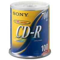 CD-R <700MB> 100CDQ80DNS 100枚
