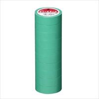 ビニールテープ NO200-19 19mm*10m 緑 10巻