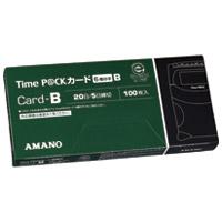 タイムパックカード(6欄印字)B