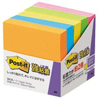 Post-it 650-5SSAN 強粘着 50mm×50mm 蛍光